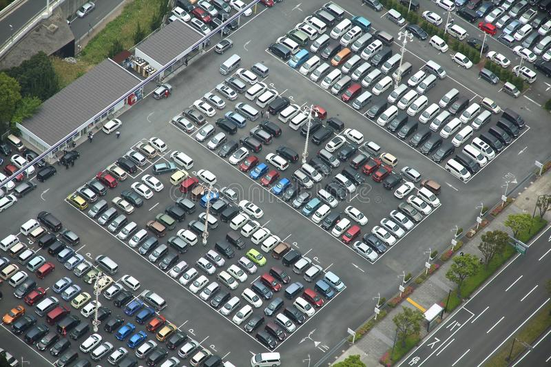Parking place royalty free stock photo