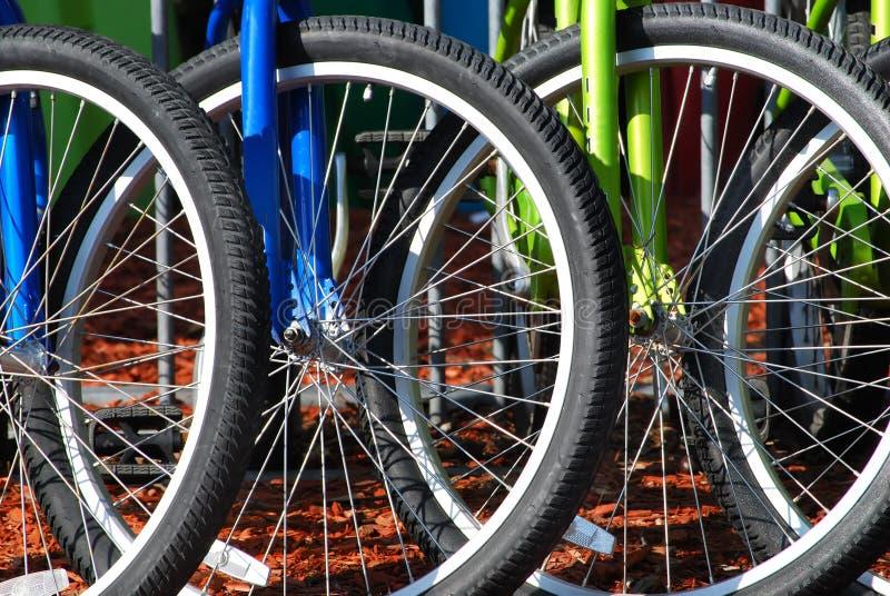 parking roweru zdjęcie royalty free