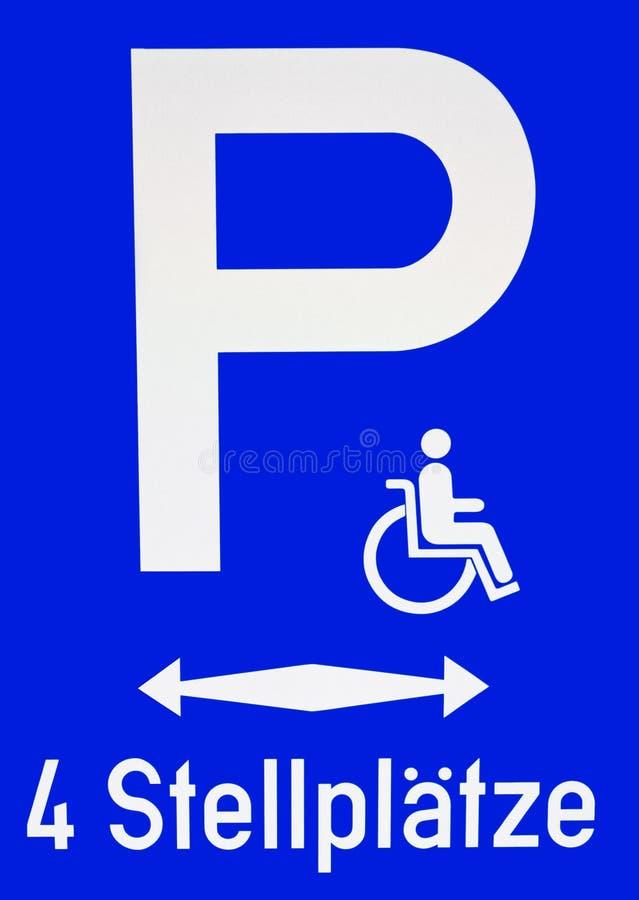 Parking sign stock photos