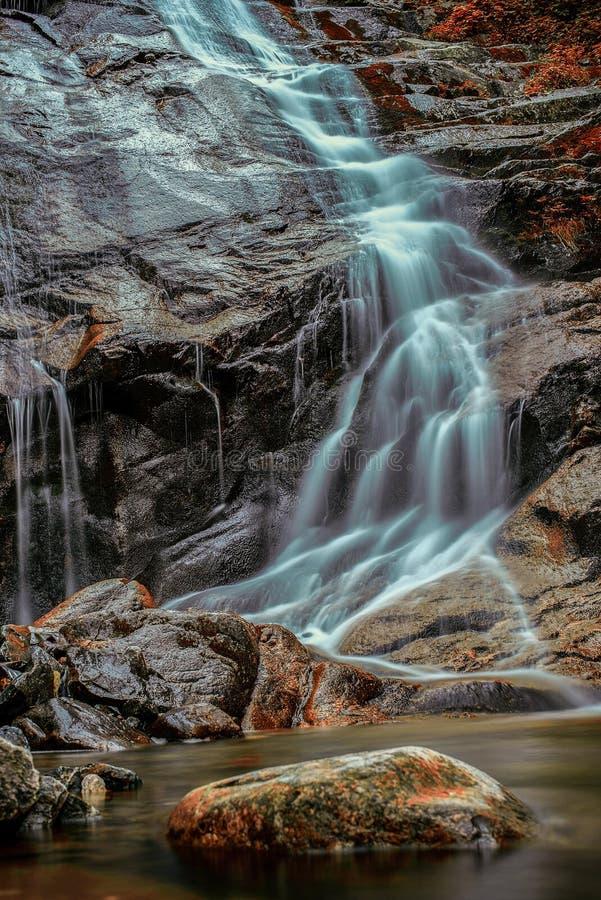Morteratsch waterfall stock photos