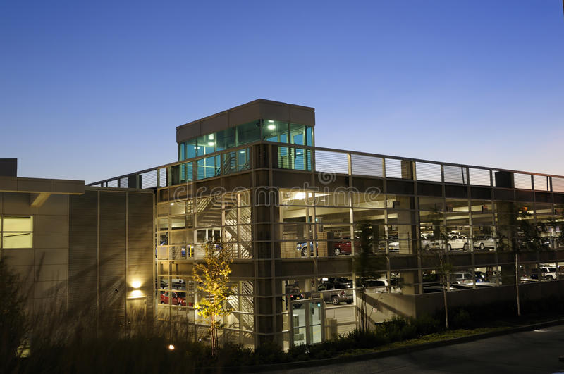 Parking structure stock photography