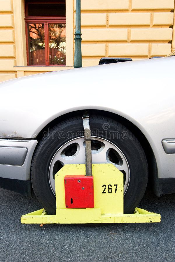 Parking Ticket stock photos