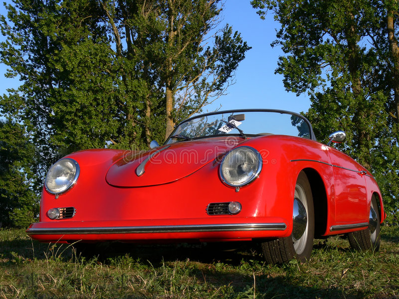 Download Parking Ticket On Classic German Sportscar Editorial Stock Photo - Image: 7958563