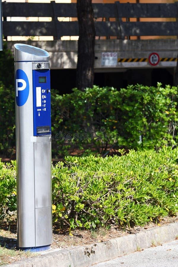 Download Parking ticket dispenser stock image. Image of paper - 19732469