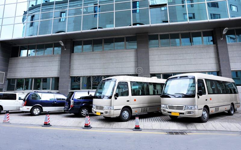 Download Parking Under Commerical Building Stock Image - Image: 24128999
