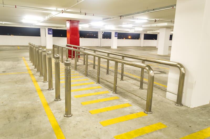 Parking vide photographie stock