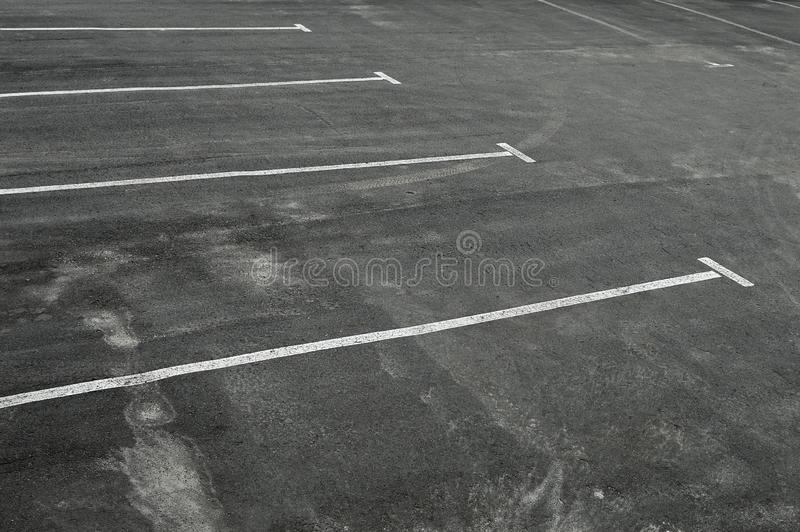 Parking vide images stock