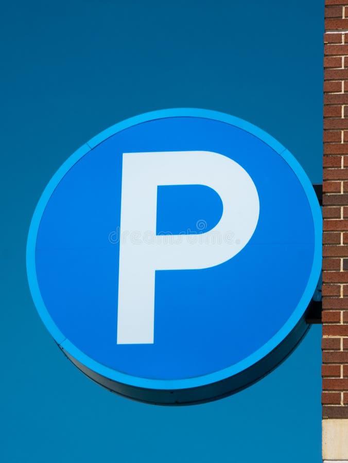 Parking znak obrazy stock