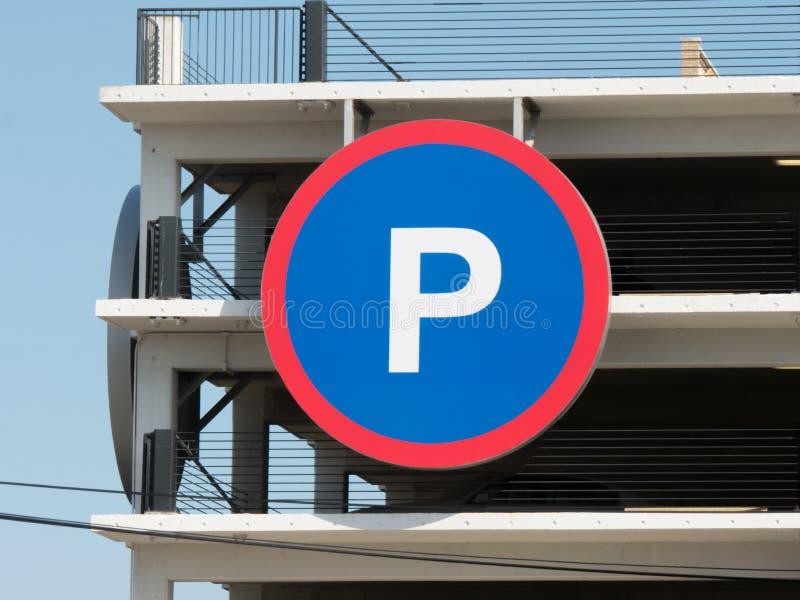 Parking znak zdjęcia royalty free