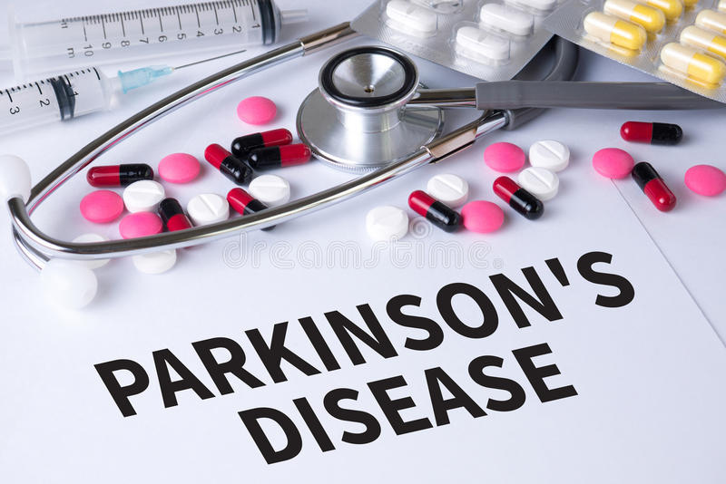 Parkinson choroba zdjęcia stock