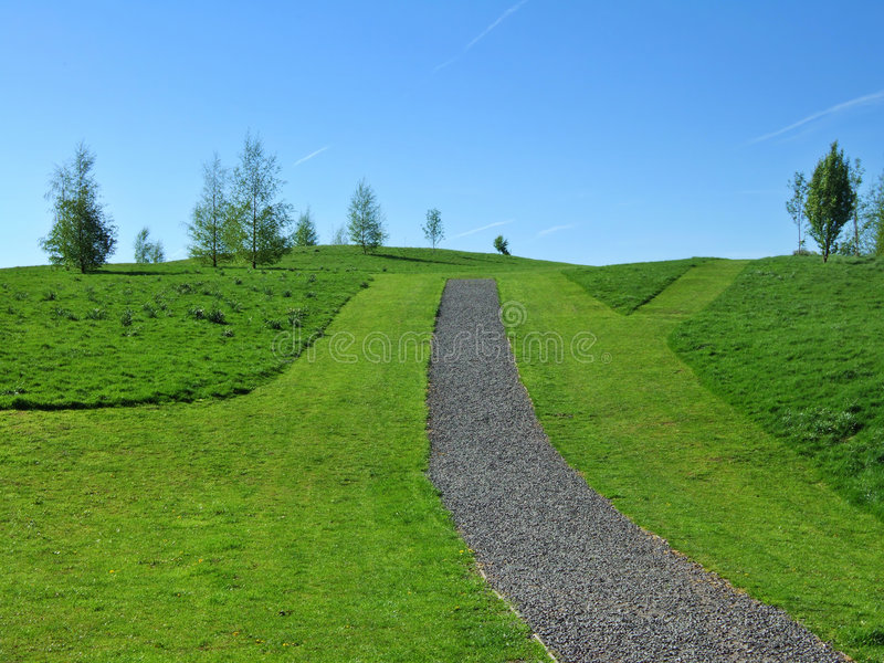 Parkland de Kendal images stock