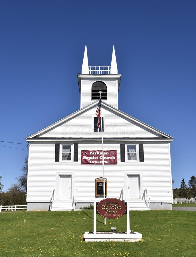 Parkland kościół baptystów fotografia stock