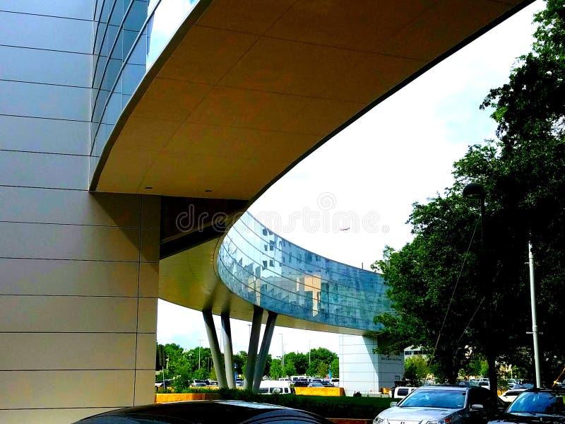 Parkland-Krankenhäuser skybridge stockfoto