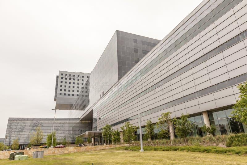 Parkland Pamiątkowy szpital w Dallas obrazy royalty free