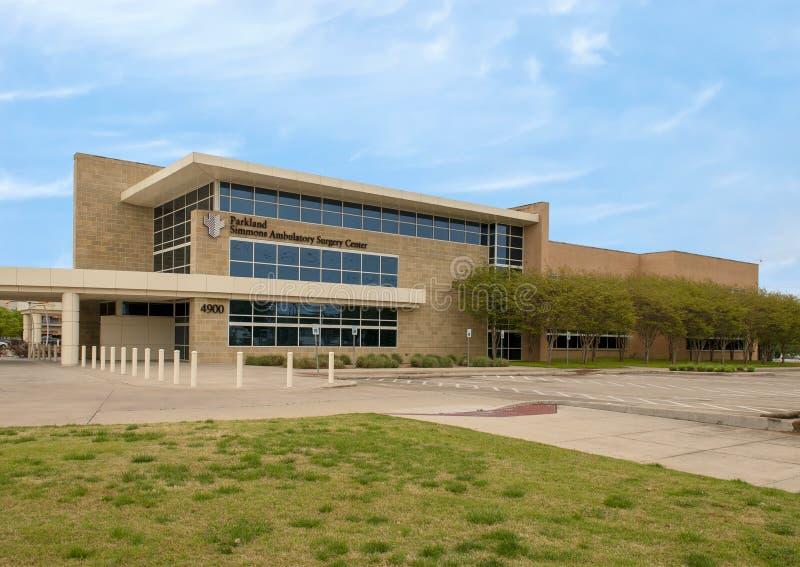 Parkland Simmons ambita operacji centrum w Dallas, Teksas obrazy royalty free