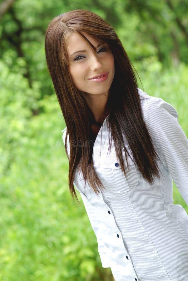 parkowa kobieta zdjęcia stock