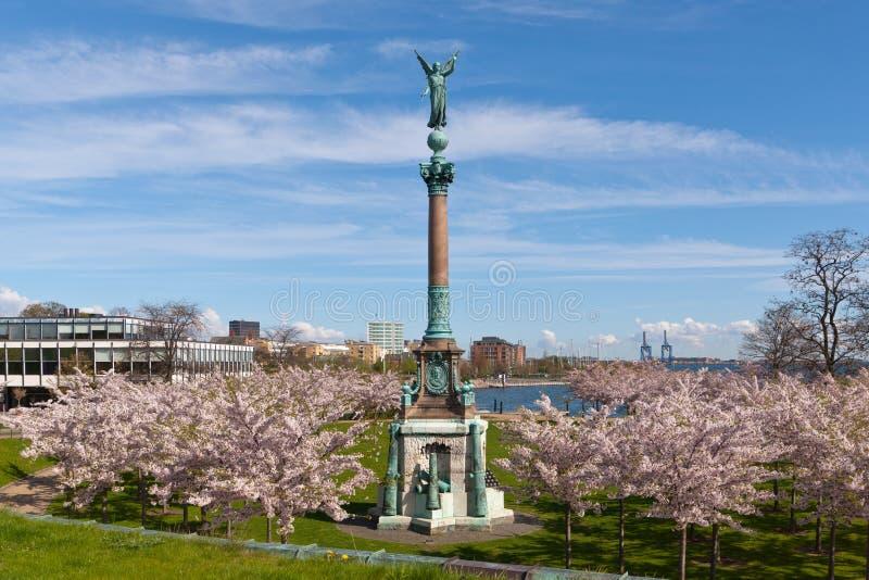 parkowa kolumny wiosna zdjęcia stock