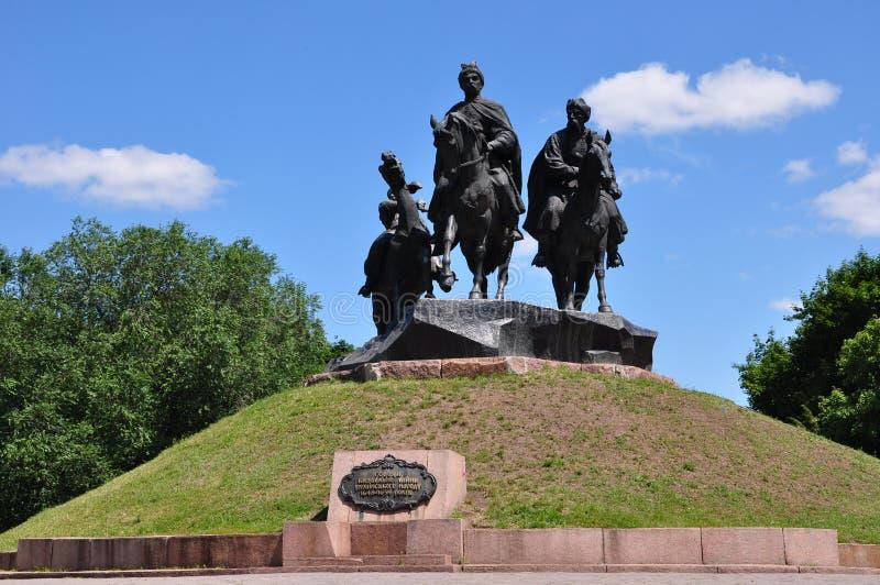 Parkowa Kozacka chwała fotografia stock