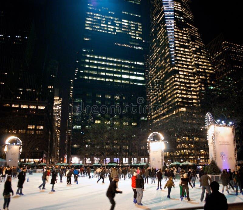 parkowe Bryant łyżwiarki fotografia royalty free