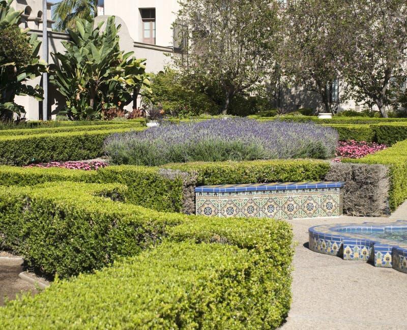 parkowi Balboa krzaki zdjęcie royalty free