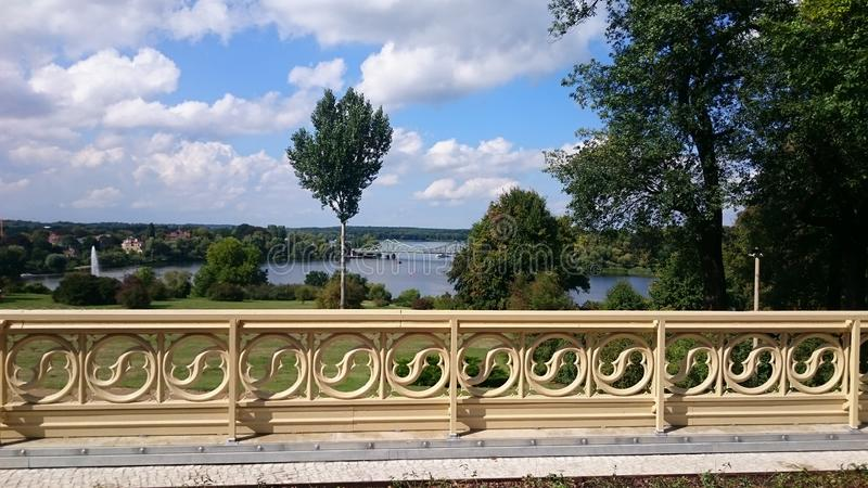 Parkowy Babelsberg fotografia royalty free