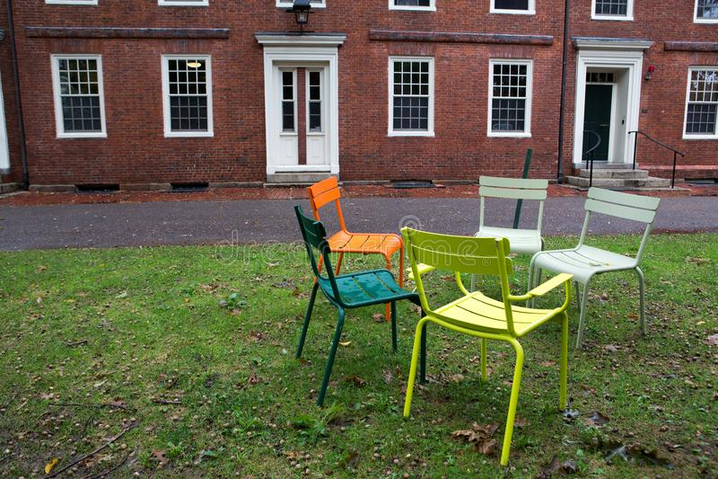parkowy Cambridge uniwersytet obraz royalty free