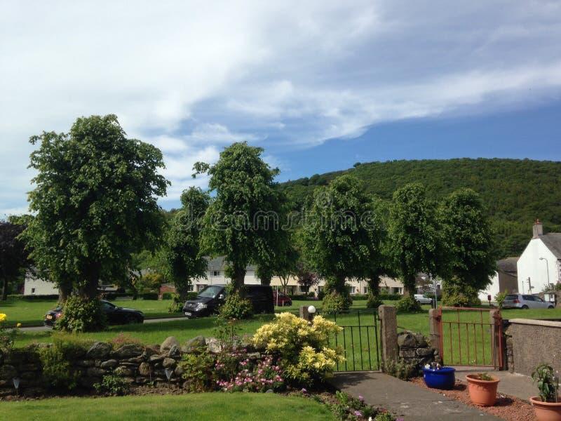 Parkowy drewniany bassenthwaite zdjęcia royalty free