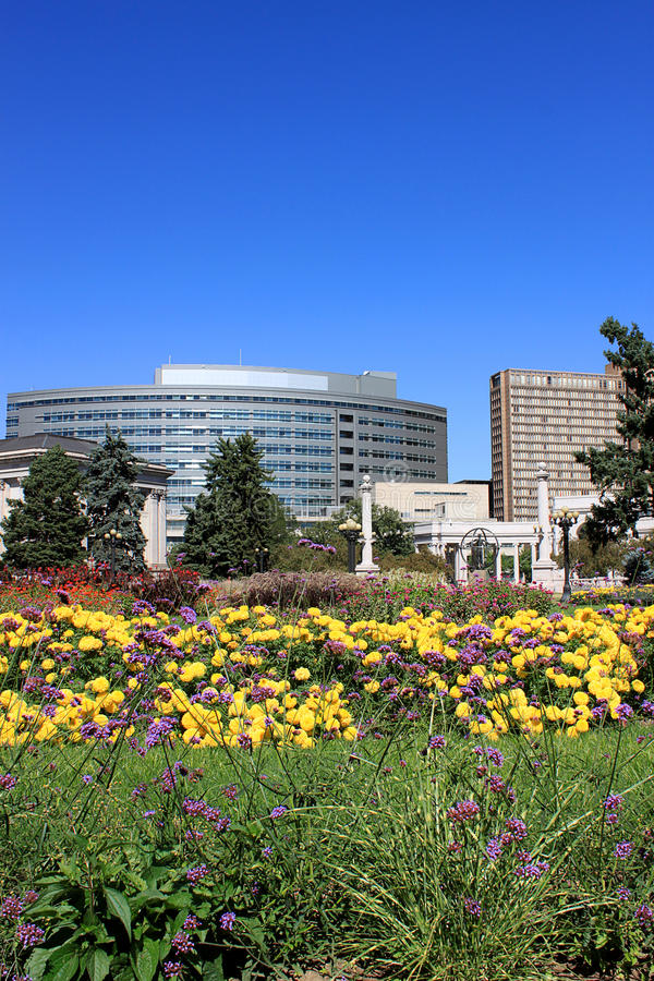 parkowy miasto widok zdjęcie royalty free
