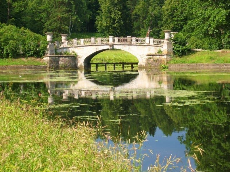 parkowy Pavlovsk zdjęcia stock