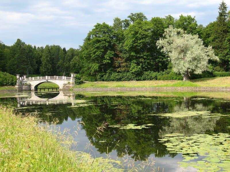 parkowy Pavlovsk obrazy stock