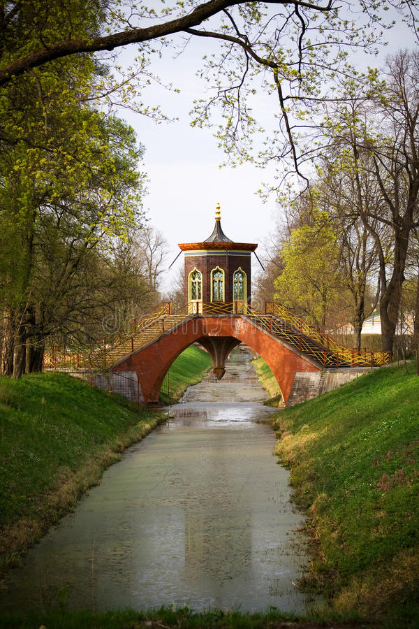 parkowy Pushkin Russia zdjęcie stock