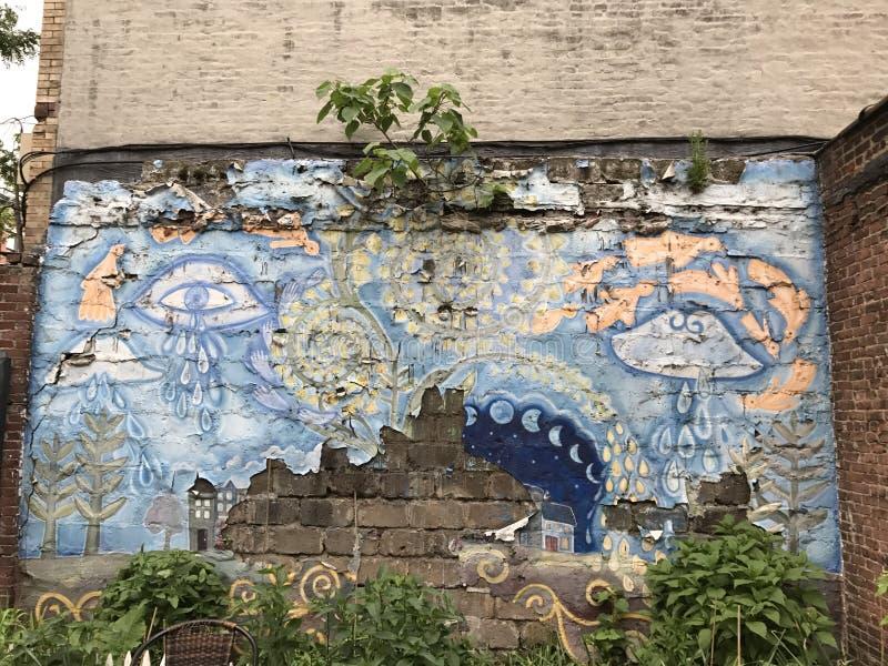 Parkowy skłon Brooklyn obrazy royalty free