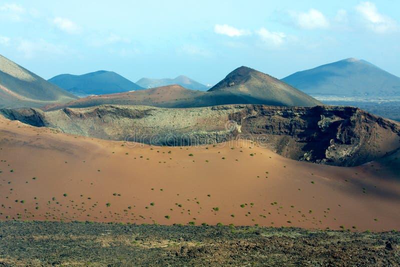 parkowy timanfaya widok wulkan obrazy stock