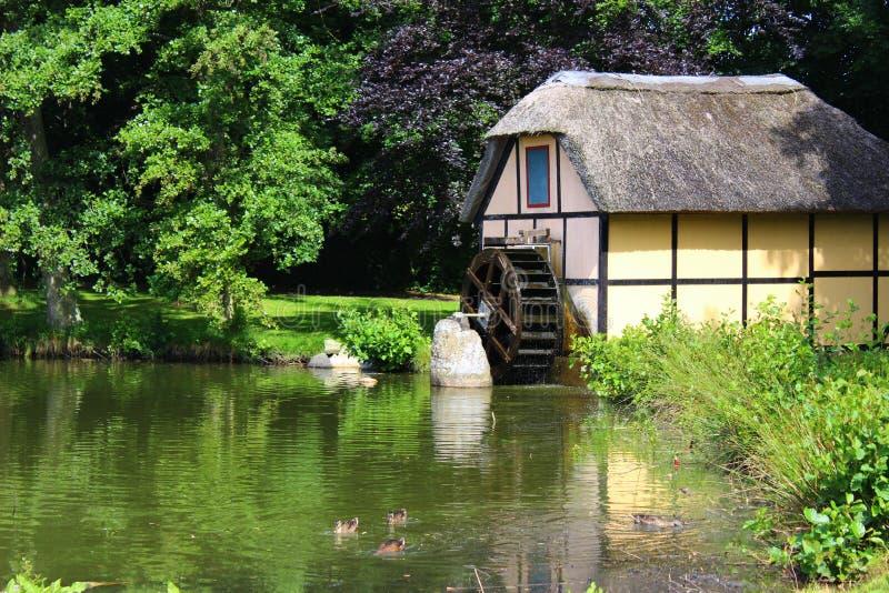 Parks und Seen von Dänemark lizenzfreies stockbild