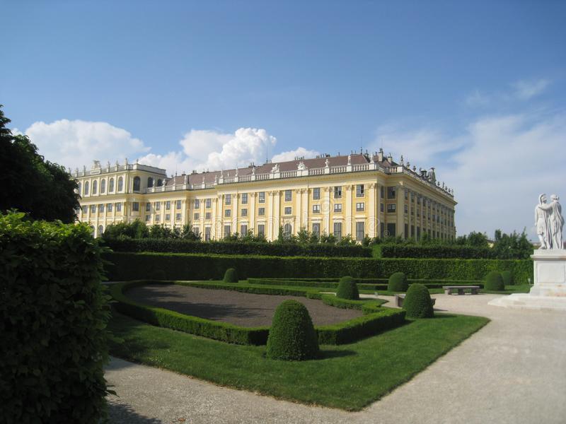 The parks of Vienna, Austria stock photos