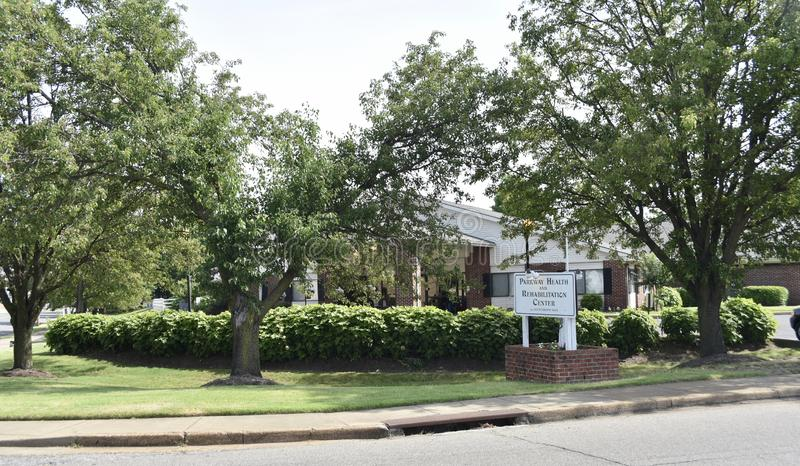 Parkway zdrowie i centrum rehabilitacji, Memphis, TN obraz stock
