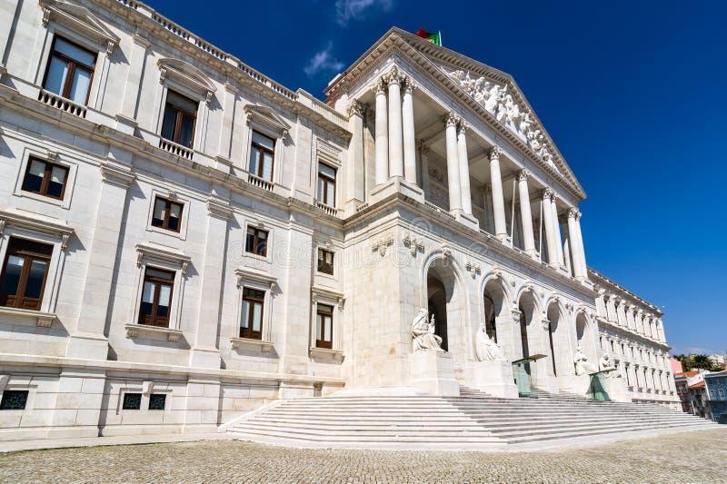 Parlament av Portugal, Lissabon arkivbilder