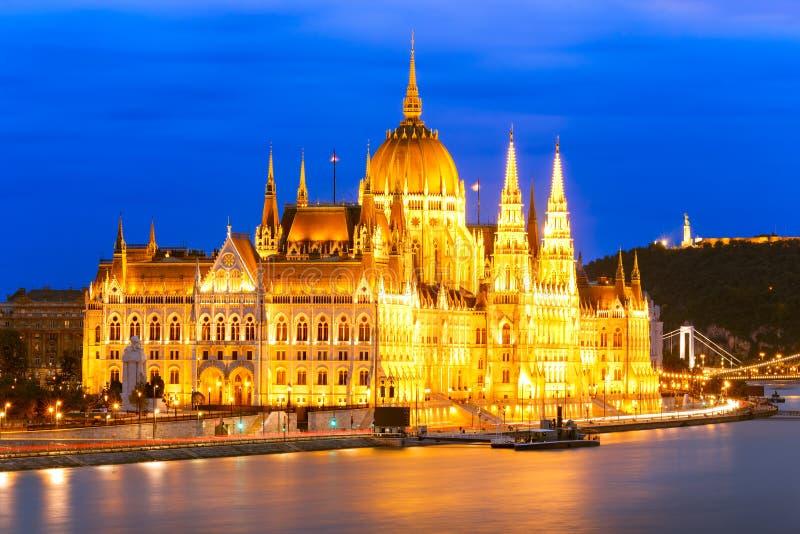 Parlament, Budapest lizenzfreies stockbild