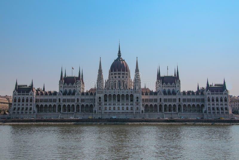 Parlament in Budapest in Ungarn lizenzfreies stockbild