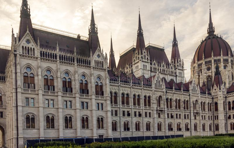 Parlament de Budapest photo stock