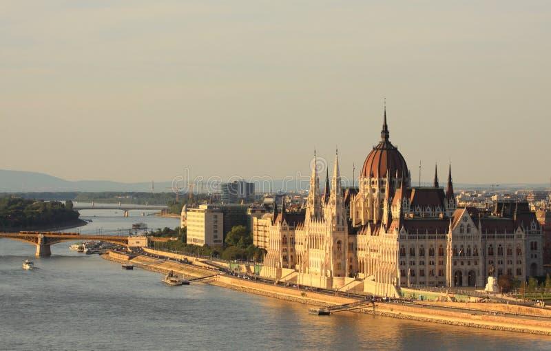 Parlament de Hungría imagen de archivo libre de regalías
