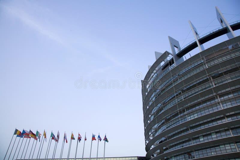 parlament europejski zdjęcie stock
