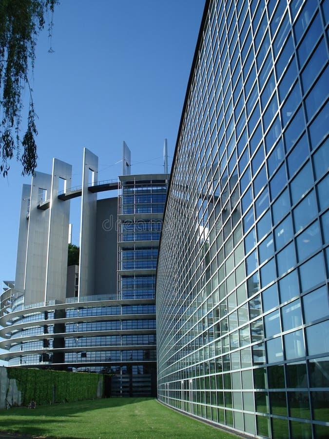 parlament europejski Strasbourg obrazy royalty free