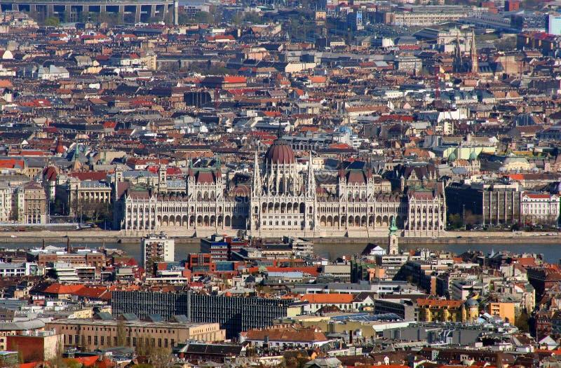 Parlament húngaro fotos de archivo libres de regalías