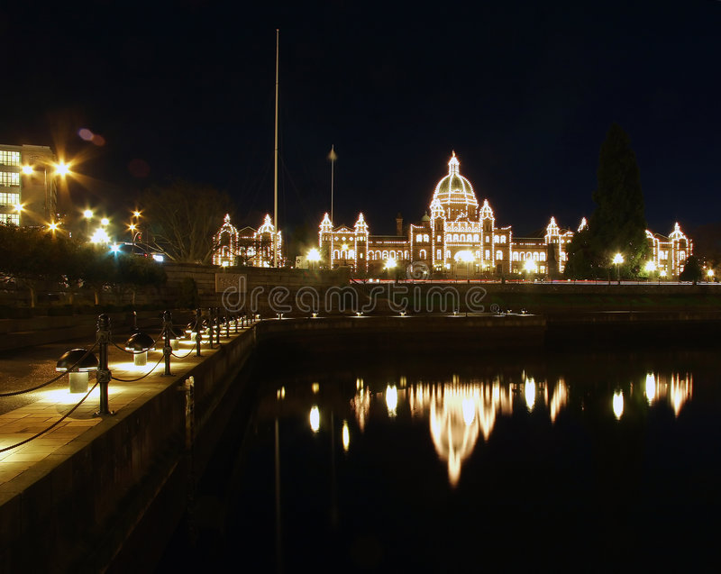 Parlament housae des Britisch-Columbia lizenzfreies stockfoto