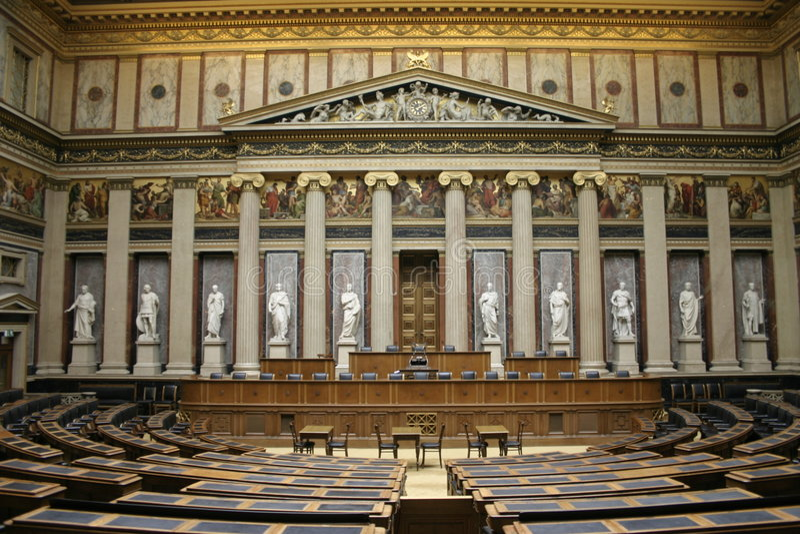 parlament jest Vienna obraz stock