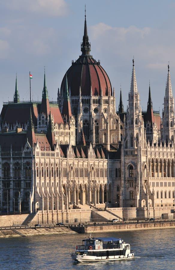 Parlament mit Lieferung stockbild