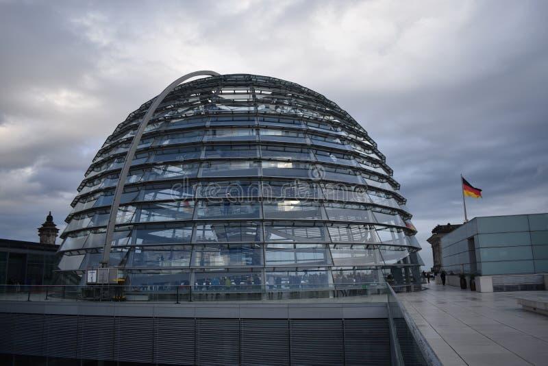 Parlament Reichstag de Berlim fotografia de stock