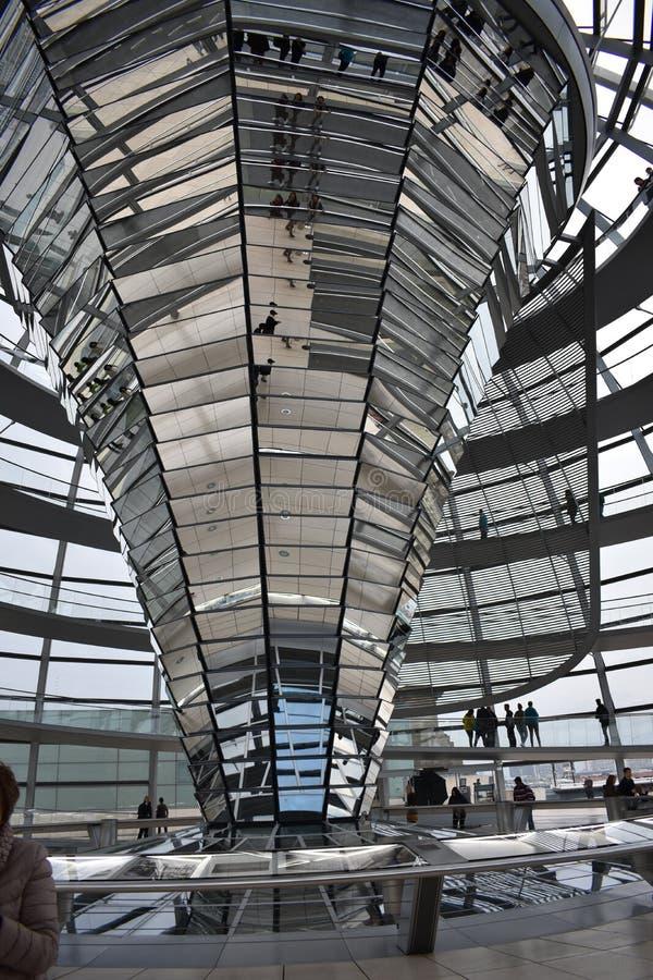 Parlament Reichstag van Berlijn royalty-vrije stock foto's