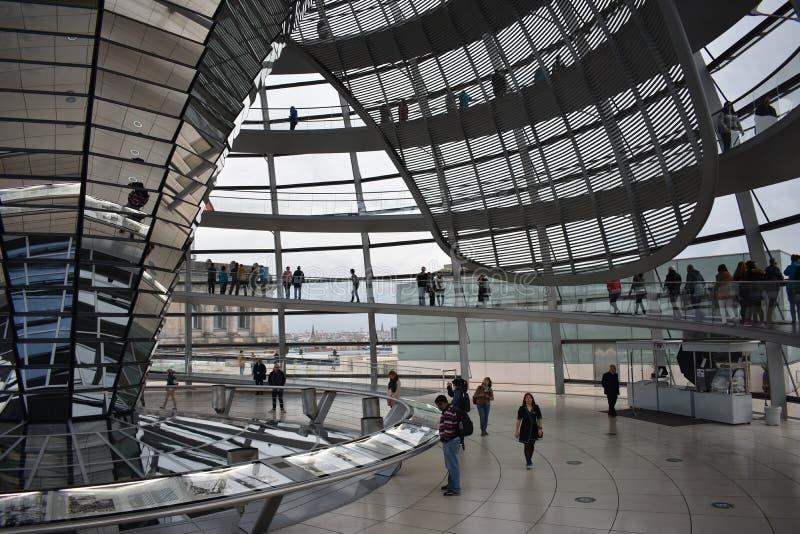 Parlament Reichstag van Berlijn stock afbeelding
